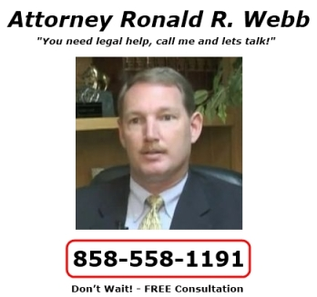Estate Planning San Diego CA Estate Planning Attorney Ron Webb